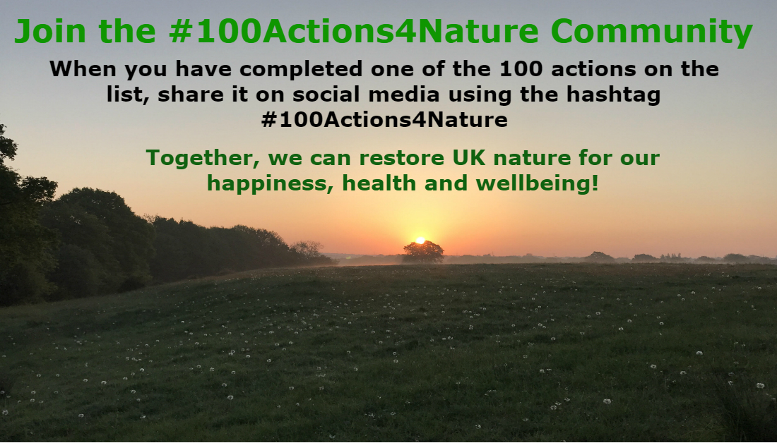 100 Actions 4 Nature