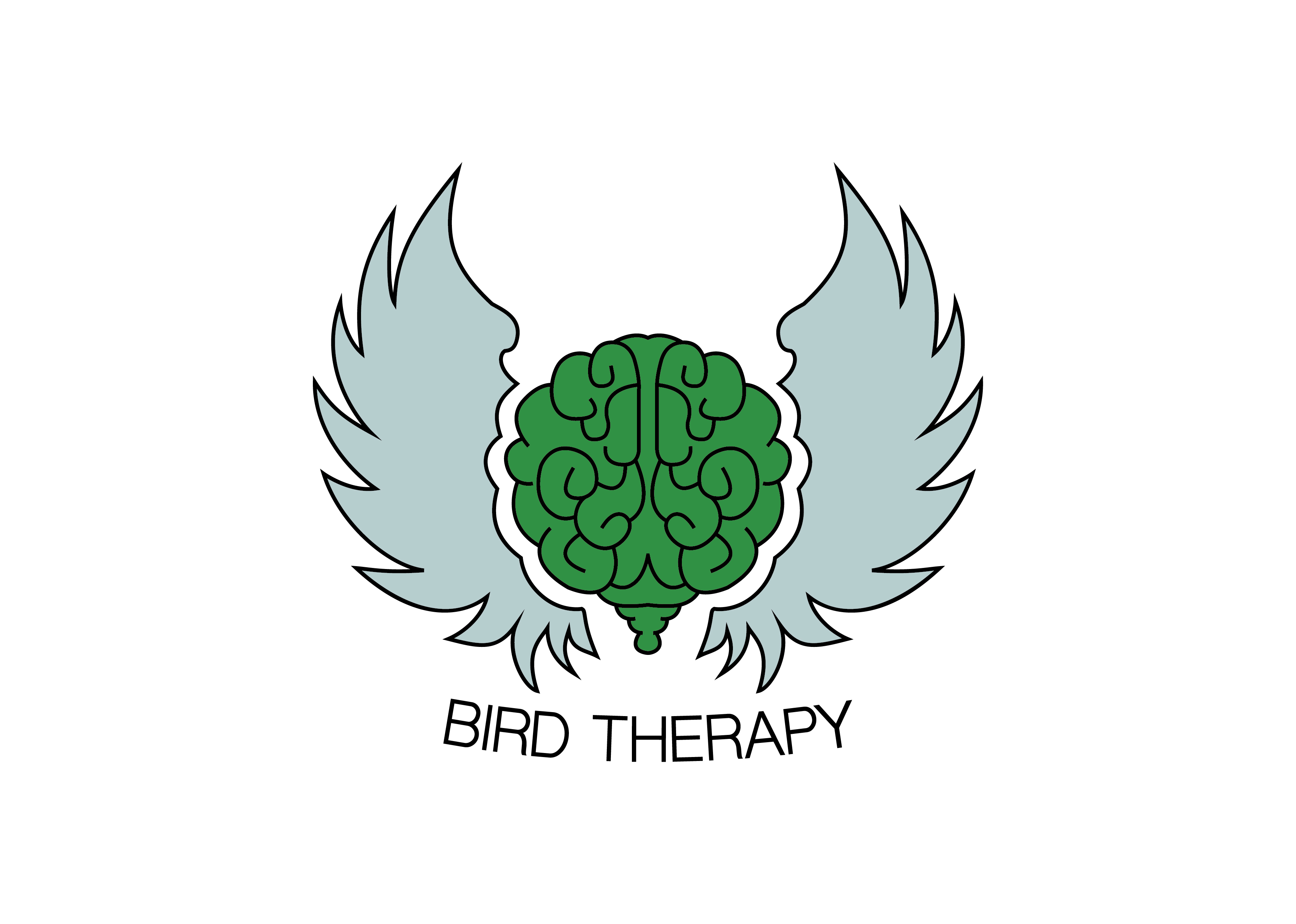 Bird Therapy Logo Complete RGB Full Colour